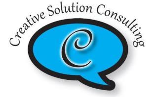 Creative Solution Consulting
